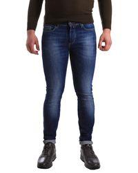 U.S. POLO ASSN. Jeans skinny 50778 51321 - Bleu