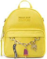 Versace E1vvbb66-71502 Backpacks Woman Giallo Backpack - Yellow