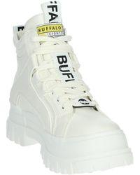 Buffalo ASPHA NC MID Boots - Blanc