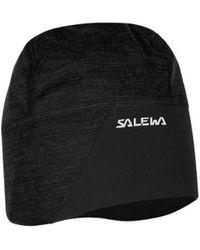 Salewa Czapka Sesvenna Wo/pp Beanie 25073-0900 Women's Beanie In Black