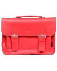 Słoń Torbalski Brooklyn Briefcase - Red