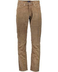 GANT 1703.1002208 Pantalon - Marron
