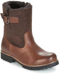 Blackstone Ol05 Mid Boots - Brown