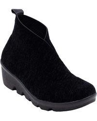 Bernie Mev Lihi Sally - Black Velvet Boots - Noir