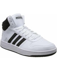 bb045b766c8c adidas - Hoops 2.0 Mid Bb7208 Men's Shoes (high-top Trainers) In White