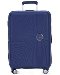 Samsonite Reiskoffer American Tourister 002 Soundbox Spinner 6624 Tx - Blauw