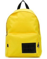 Calvin Klein Mochila Mochila amarilla - Amarillo
