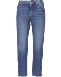 Lee Jeans Mom Straight Jeans - Blue
