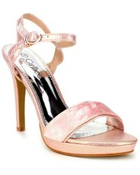 Cendriyon Sandales Rose Chaussures Femme Sandales