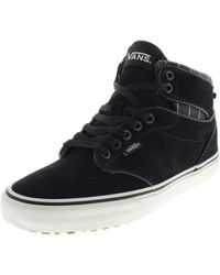 df3e1c9665c3dc Vans Sk8-hi Mte Men s Shoes (high-top Trainers) In Black in Black ...