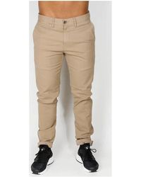 Ben Sherman Skinny Stretch Chino - Stone Pantalon - Neutre