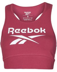 Reebok - Reggiseno Sportivo Ri Bl Cotton Bralet - Lyst