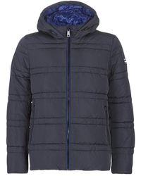 Scotch & Soda Donsjas Classic Hooded Primaloft Jacket - Blauw