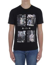 Daniele Alessandrini M7488E643NO4100 T-shirt - Noir