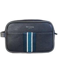 Ted Baker - Ted Bag Toiletry Bag Dc8m / GG03 / Smitset Men's Vanity Case In Black - Lyst
