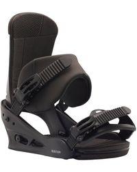 Burton Bindings Custom Accessoire sport - Noir