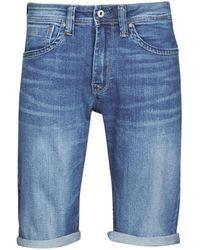 Pepe Jeans Korte Broek Cash - Blauw