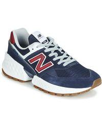 New Balance Lage Sneakers 574 - Blauw