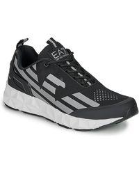 EA7 Lage Sneakers Ultimate C2 Kombat U - Zwart