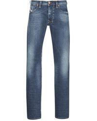 DIESEL Straight Jeans Larkee - Blauw