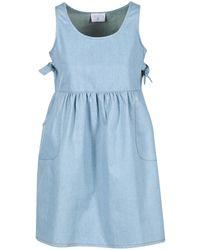Compañía Fantástica | Ebometa Women's Dress In Blue | Lyst