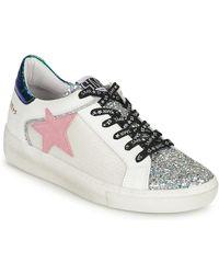 Semerdjian Sneakers Basse Carla - Metallizzato