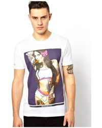 Rock Revival - Mens Tatooed Girl T-shirt Men's T Shirt In White - Lyst