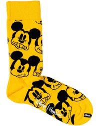 Happy Socks Calcetines DNY01 - Amarillo