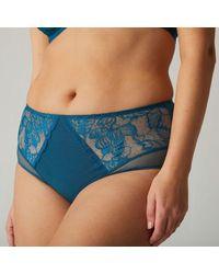 Simone Perele Culotte Promesse Culottes & slips - Bleu