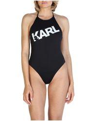 Karl Lagerfeld Kl21wop03 Maillots de bain - Noir