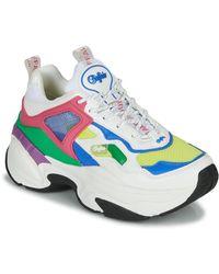 Buffalo Lage Sneakers 1630280 - Blauw