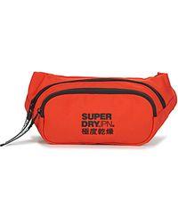 Superdry Hüfttasche SMALL BUM BAG - Orange