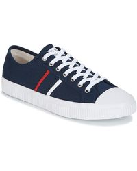 Jim Rickey Lage Sneakers Trophy - Blauw