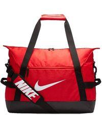 Nike Bolsa de deporte Academy Team M Bag - Rojo