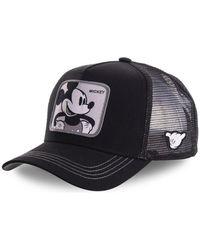 Capslab Casquette Casquette Disney Mickey filet Noir