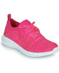 Skechers Fitness Schoenen Ultra Flex - Roze