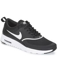 Nike Lage Sneakers Air Max Thea W - Zwart
