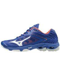 Mizuno Wave Lightning Z5 hommes Chaussures en multicolor - Bleu
