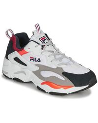 Fila Lage Sneakers Ray Tracer - Wit