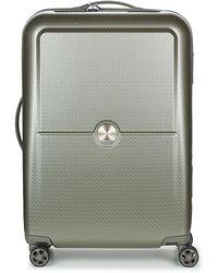 Delsey Turenne 4dr 65cm Hard Suitcase - Grey