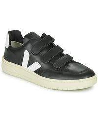 Veja Lage Sneakers V-lock - Zwart
