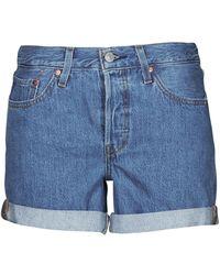 Levi's Short Levis 501® SHORT LONG - Bleu