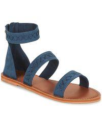 Roxy - Natalie J Sndl Nvy Women's Sandals In Blue - Lyst