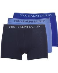 Polo Ralph Lauren Boxers Classic-3 Pack-trunk - Blauw