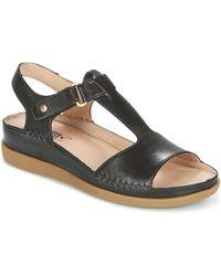Pikolinos - Cadaques W8k Women's Sandals In Black - Lyst