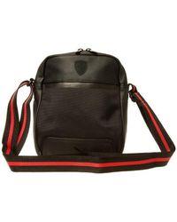 bb1d98dd0633 PUMA - Ferrari Ls Portable Men s Shoulder Bag In Black - Lyst