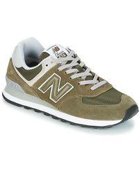 New Balance Lage Sneakers Ml574 - Groen