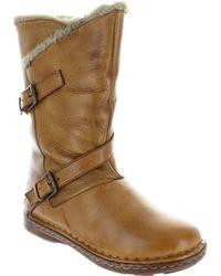 Lotus - Jolanda Women's High Boots In Brown - Lyst