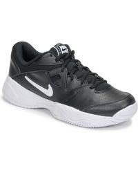 Nike Tennisschoenen Court Lite 2 - Zwart