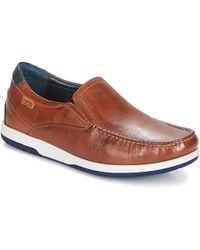 Pikolinos - Almeria 08l Men's Loafers / Casual Shoes In Brown - Lyst